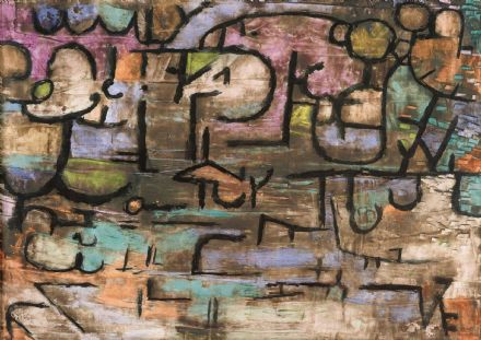 Klee, Paul: After the Flood. Fine Art Print/Poster. Sizes: A4/A3/A2/A1 (3922)